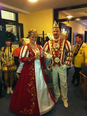Prinz Willi I. und Prinzessin Michaela I. zu Besuch im Ricam Hospiz