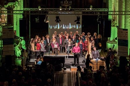 Über 50 Musiker_innen beteiligten sich am Projekt - Foto: (C) Philip Kirste