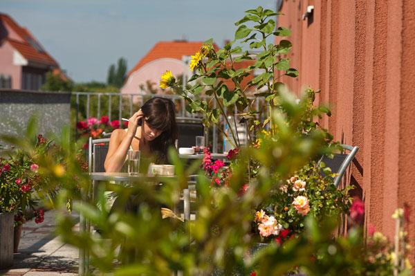 Terrasse ricam hospiz