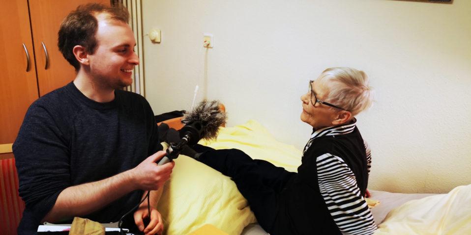 Deutschlandfunk im Hospiz