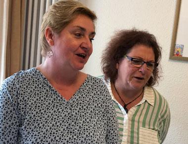 Hospitation im Hospiz mit Schwester Andrea