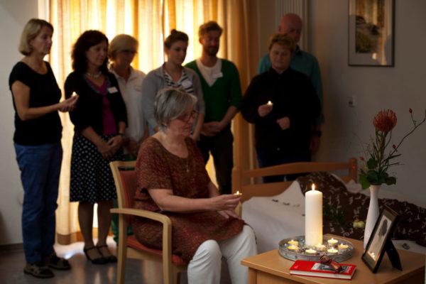 Hospitation im Hospiz: Abschied nehmen im Hospiz