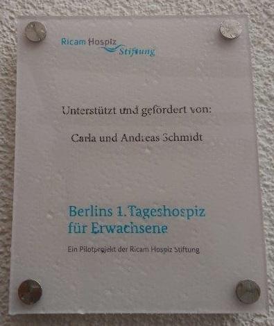 Plakette C. u. A. Schmidt